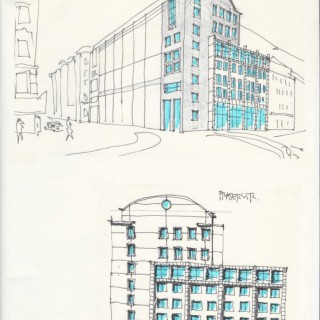 Business building: Aspernbrückengasse 1990/1991