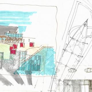 Urban-Architectural Contest: The scope close to Arena, 1995